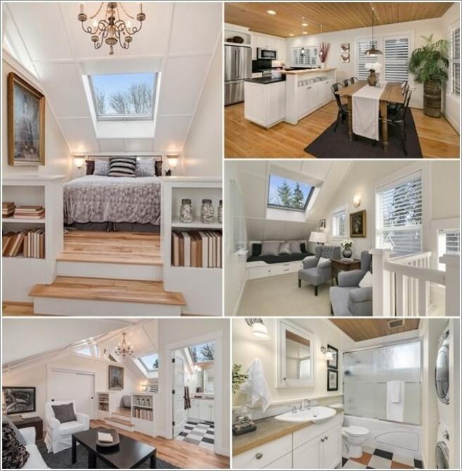 Nếu bạn đang sống trong căn hộ áp mái, đó là cơ hội tuyệt vời để trang trí thành không gian cao cấp - Ảnh 9.