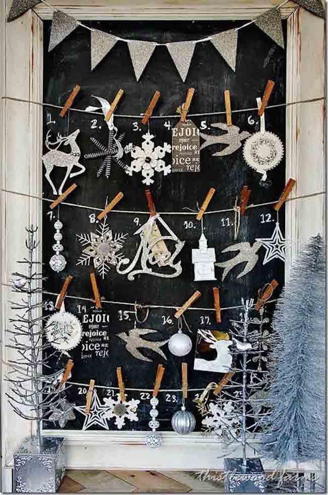 Mang không khí Giáng sinh đến từng khung cửa sổ nhà bạn với hàng loạt ý tưởng trang trí sáng tạo - Ảnh 9.