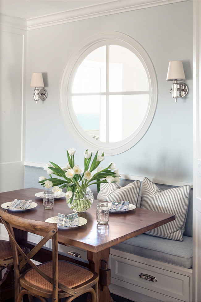 29 mẫu bàn ghế ăn khiến phòng ăn nhà bạn từ nhỏ hóa rộng thênh thang - Ảnh 10.
