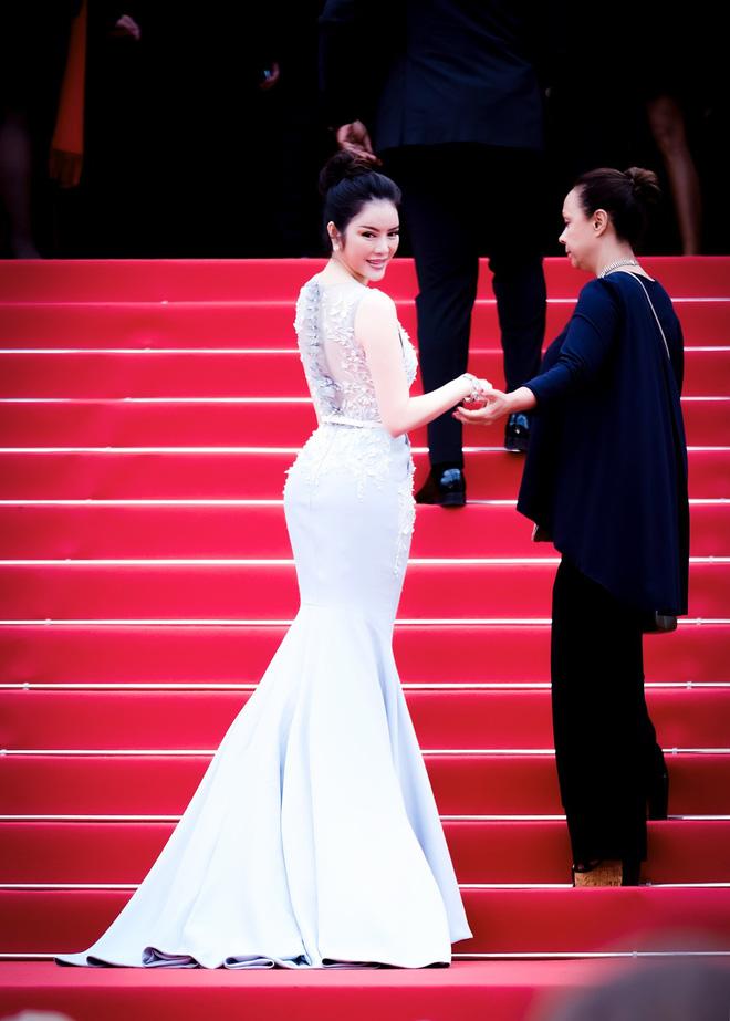 Lý Nhã Kỳ diện cây hàng hiệu hơn 4 tỷ lộng lẫy trên thảm đỏ LHP Cannes ngày 2 - Ảnh 10.