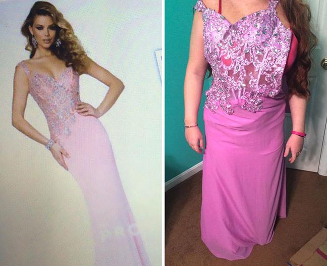 Những bộ váy prom thảm họa mua online biến công chúa thành phù thủy trong chớp mắt - Ảnh 11.
