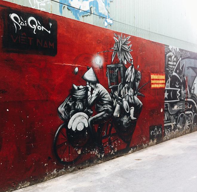 Vạn lần ngược xuôi Sài Gòn nhưng không phải ai cũng thấy những bức tranh tường chất ngất như thế! - Ảnh 10.