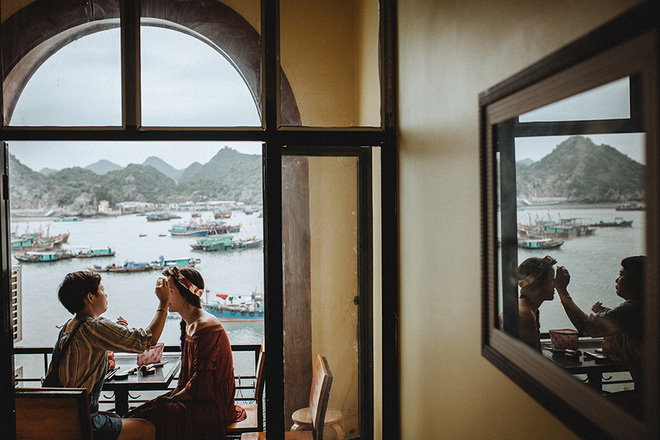 Đám cưới bí mật đẹp như mơ có 1-0-2 của cặp đôi Tây bỏ trốn trên đảo Cát Bà - Ảnh 10.
