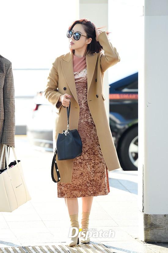 Áo khoác dáng dài năm nào cũng hot, nhưng để mặc đẹp và thật hợp mốt thì phải học tập các idol Hàn này - Ảnh 5.