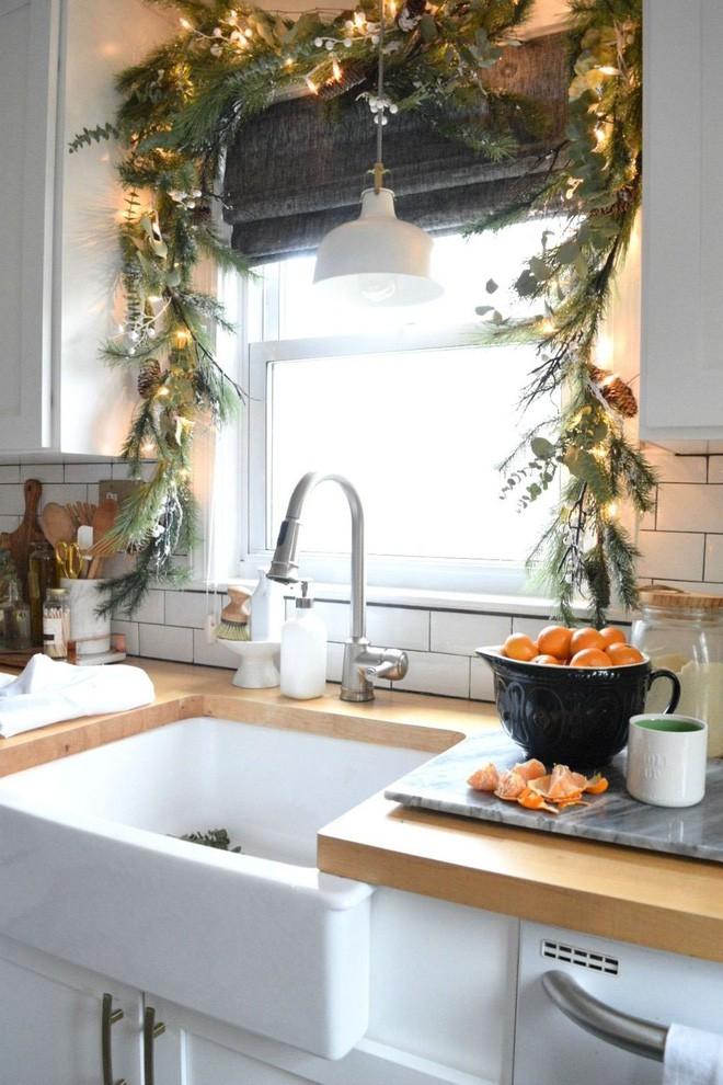Mang không khí Giáng sinh đến từng khung cửa sổ nhà bạn với hàng loạt ý tưởng trang trí sáng tạo - Ảnh 10.