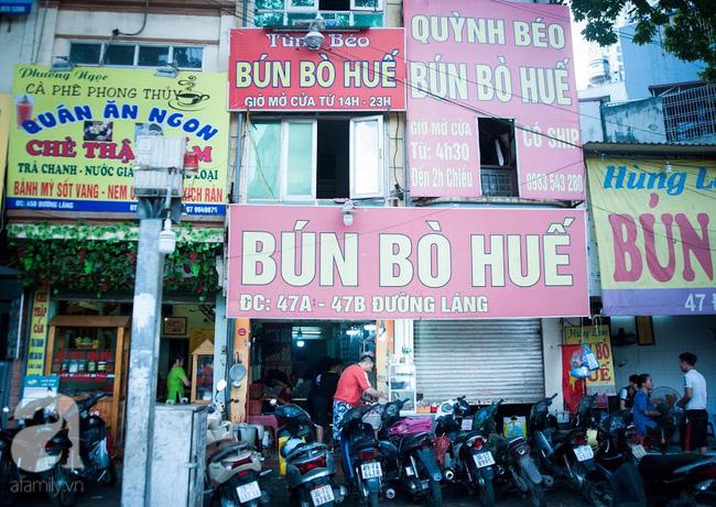Hà Nội trở mùa, sáng dậy sớm nhớ ghé qua hàng bún bò Huế Ngã Tư Sở 2 chủ 1 tiệm 1 hương vị - Ảnh 1.