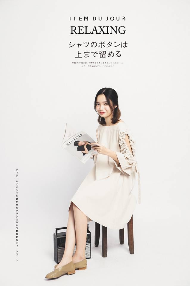 Đón thu ngọt ngào cùng những thiết kế váy liền tay lỡ mà giá chưa đến 700 ngàn đến từ các thương hiệu Việt - Ảnh 1.