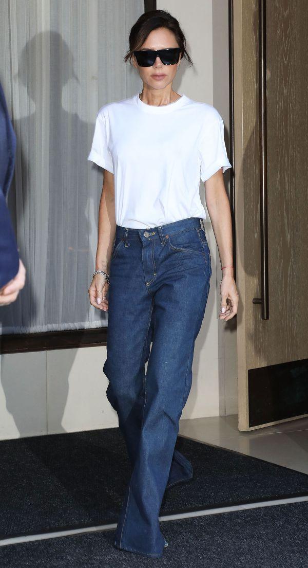 Victoria Beckhan - cao thủ diện áo phông trắng chất lừ mọi lúc mọi nơi - Ảnh 9.