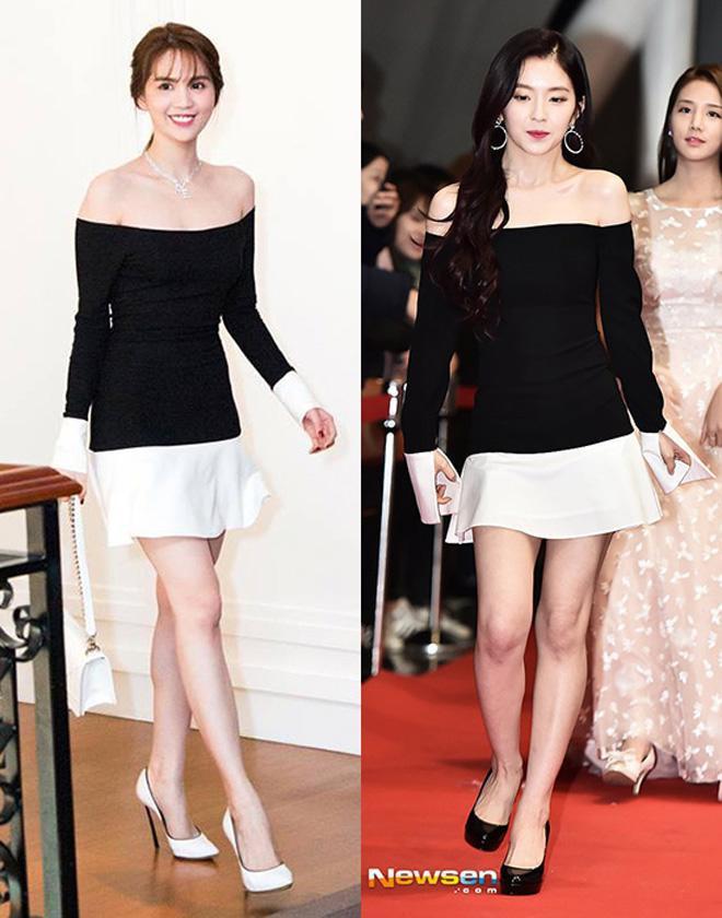 Năm 2017, Ngọc Trinh xứng đáng là Nữ hoàng váy nhái của showbiz Việt - Ảnh 12.