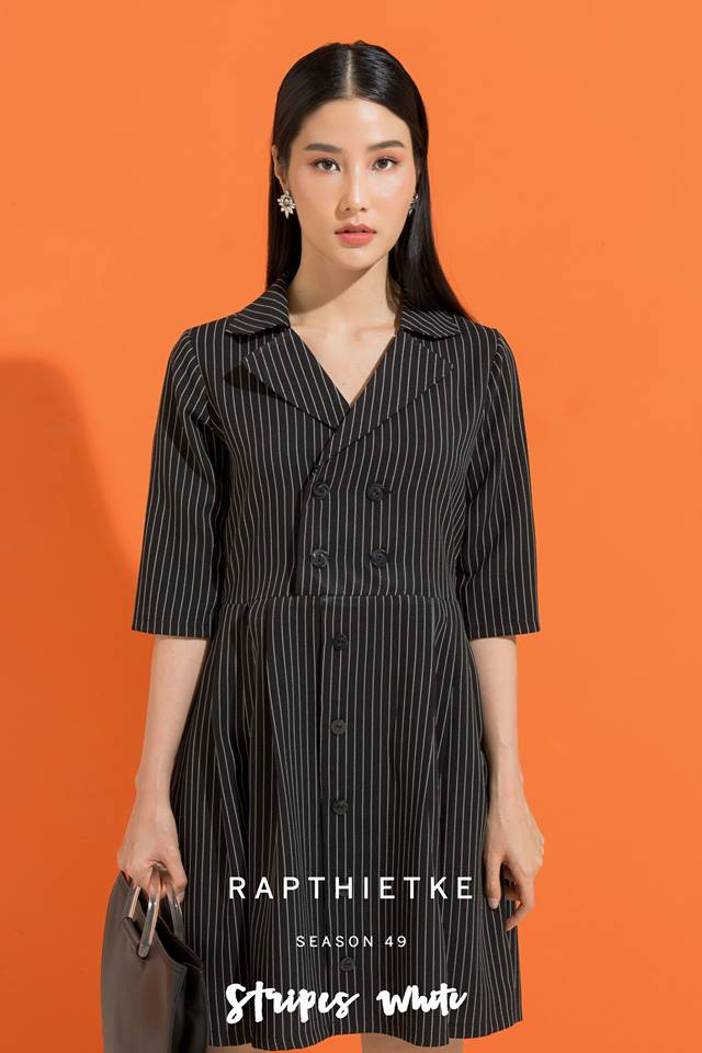 Đón thu ngọt ngào cùng những thiết kế váy liền tay lỡ mà giá chưa đến 700 ngàn đến từ các thương hiệu Việt - Ảnh 12.