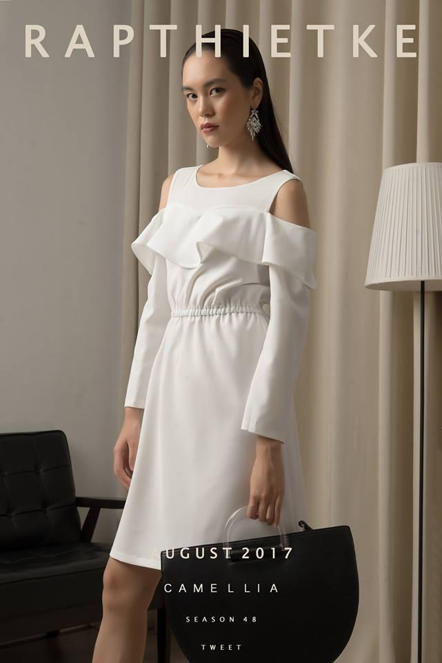 Đón thu ngọt ngào cùng những thiết kế váy liền tay lỡ mà giá chưa đến 700 ngàn đến từ các thương hiệu Việt - Ảnh 13.