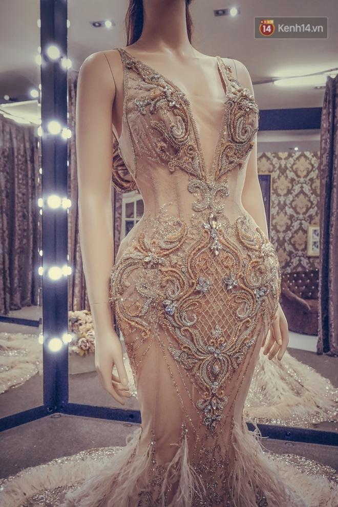 Hé lộ đầm dạ hội mặc đêm Chung kết Miss Grand International của Huyền My, trông chẳng khác gì đầm mặc hôm Bán kết - Ảnh 8.