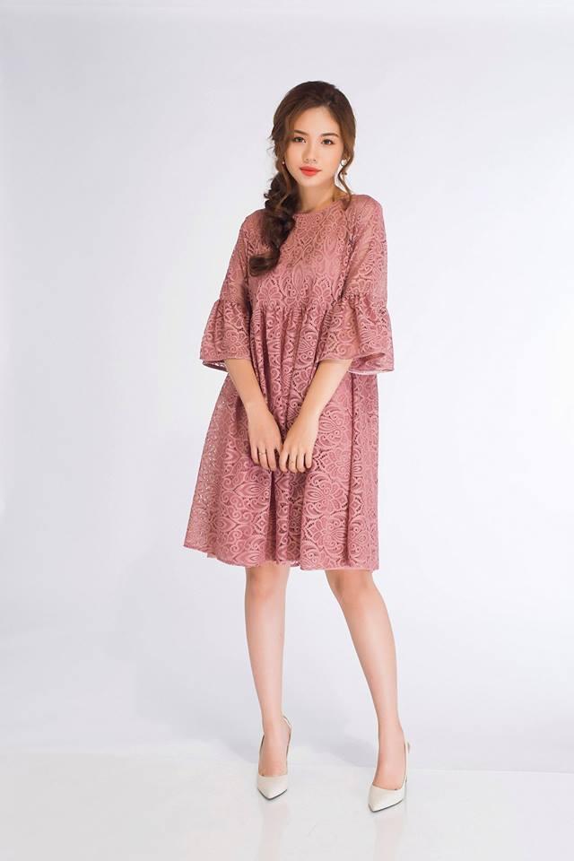 Đón thu ngọt ngào cùng những thiết kế váy liền tay lỡ mà giá chưa đến 700 ngàn đến từ các thương hiệu Việt - Ảnh 14.