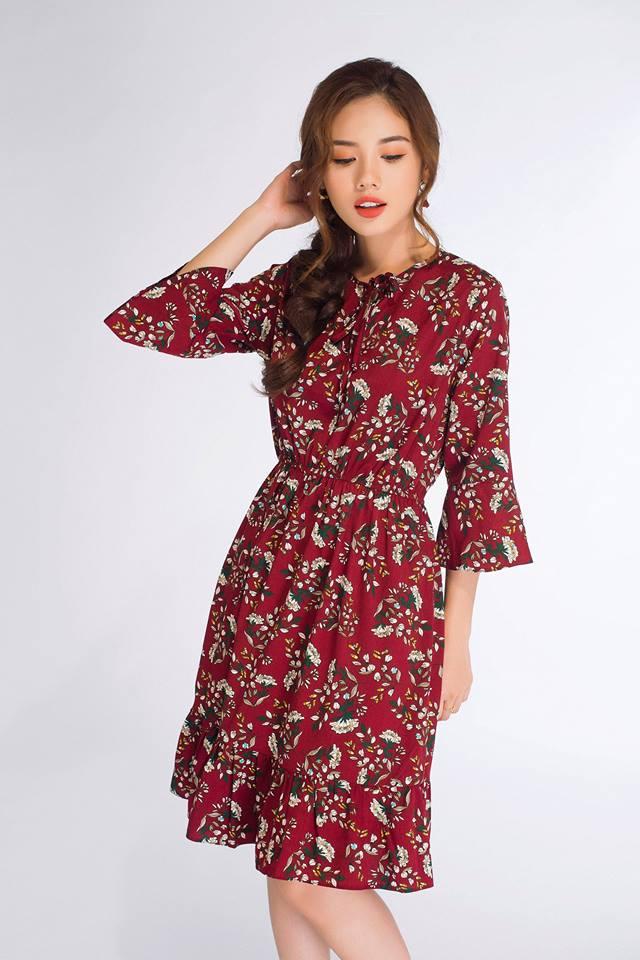 Đón thu ngọt ngào cùng những thiết kế váy liền tay lỡ mà giá chưa đến 700 ngàn đến từ các thương hiệu Việt - Ảnh 15.