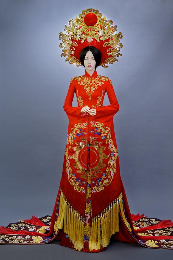 Á hậu Huyền My hé lộ bộ quốc phục nặng 30kg sẽ trình diễn tại Miss Grand International 2017 - Ảnh 7.