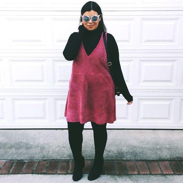 Những cách diện đồ mà nàng ngoại cỡ có thể tham khảo để mặc trong mùa đông này - Ảnh 5.