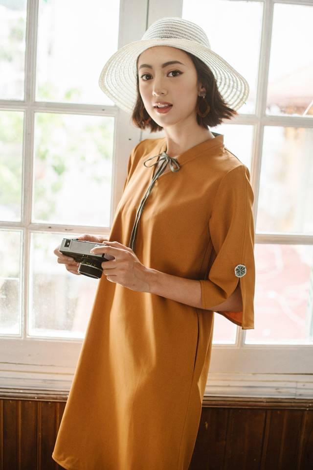 Đón thu ngọt ngào cùng những thiết kế váy liền tay lỡ mà giá chưa đến 700 ngàn đến từ các thương hiệu Việt - Ảnh 18.