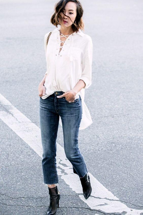 Vóc dáng mình thế nào thì mình chọn quần jeans như thế! - Ảnh 8.