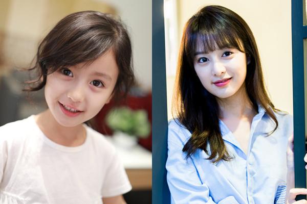 Thiên thần nhí 8 tuổi xinh lung linh, giống Kim Ji Won như tạc - Ảnh 1.