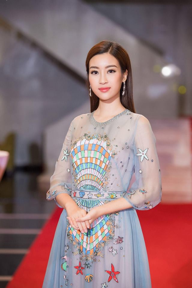 Giật mình khi thấy Hoa hậu Đỗ Mỹ Linh trang điểm đậm đến mức già chát thế này - Ảnh 5.