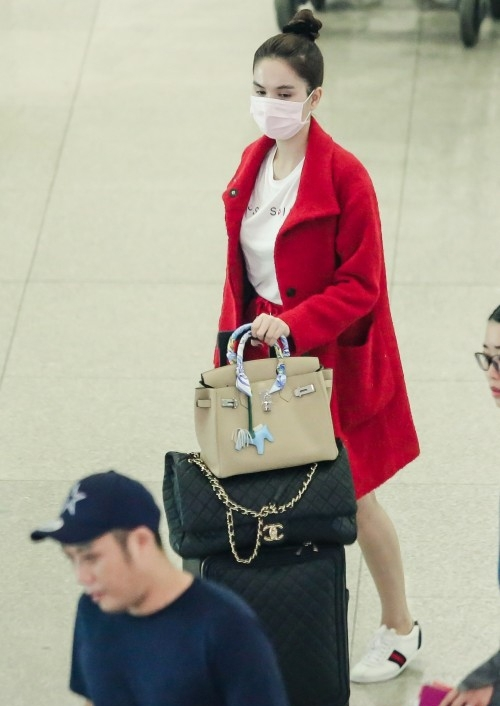 Những người đẹp Việt rất trung thành với một hãng túi hiệu - Ảnh 8.