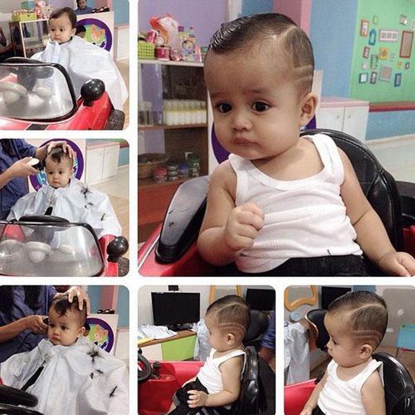 Tuyển tập những kiểu tóc đẹp cho bé trai giúp các mẹ thỏa thích biến con mình thành soái ca - Ảnh 17.