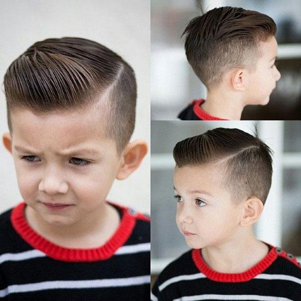 Tuyển tập những kiểu tóc đẹp cho bé trai giúp các mẹ thỏa thích biến con mình thành soái ca - Ảnh 4.