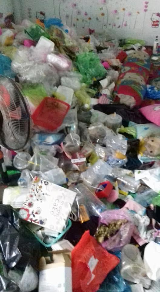 Lại xuất hiện thêm gái xinh ở bẩn nhất hành tinh , nhà trọ hóa bãi rác sau 5 tháng thuê - ảnh 5