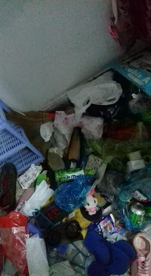 Lại xuất hiện thêm gái xinh ở bẩn nhất hành tinh , nhà trọ hóa bãi rác sau 5 tháng thuê - ảnh 4