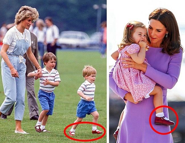 Hoàng tử và Công chúa nhà Kate thỉnh thoảng còn diện lại đồ của bố William hay chú Harry từng mặc 30 năm trước - Ảnh 2.