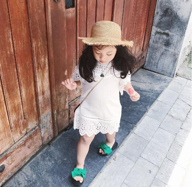 Đâu chỉ mỗi Hàn Quốc, ở Việt Nam có 4 cô nhóc này vừa xinh lại vừa mặc đẹp - Ảnh 12.