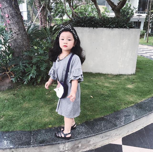 Đâu chỉ mỗi Hàn Quốc, ở Việt Nam có 4 cô nhóc này vừa xinh lại vừa mặc đẹp - Ảnh 13.