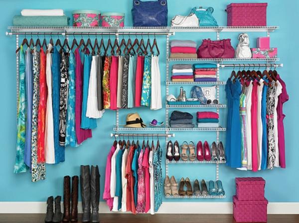 Học ngay 20 cách sắp xếp tủ quần áo nhìn đẹp như ở cửa hàng thời trang - Ảnh 12.