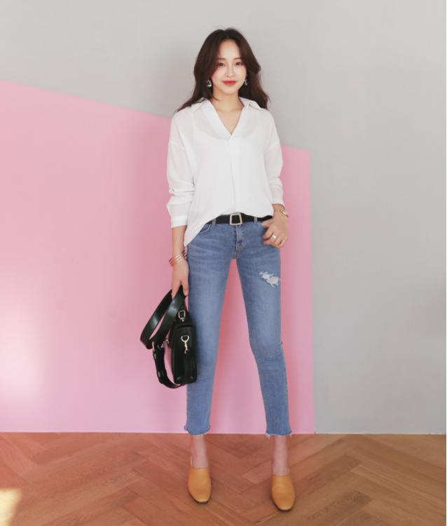 Điểm qua một vài cách diện đồ hay ho với cặp đôi kinh điển: quần jeans và sơmi - Ảnh 2.