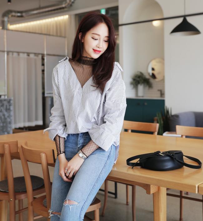 Những cách mix đồ cho mùa mới bạn có thể ứng dụng ngay khi lượn lờ qua các shop đồ online của Hàn - Ảnh 11.
