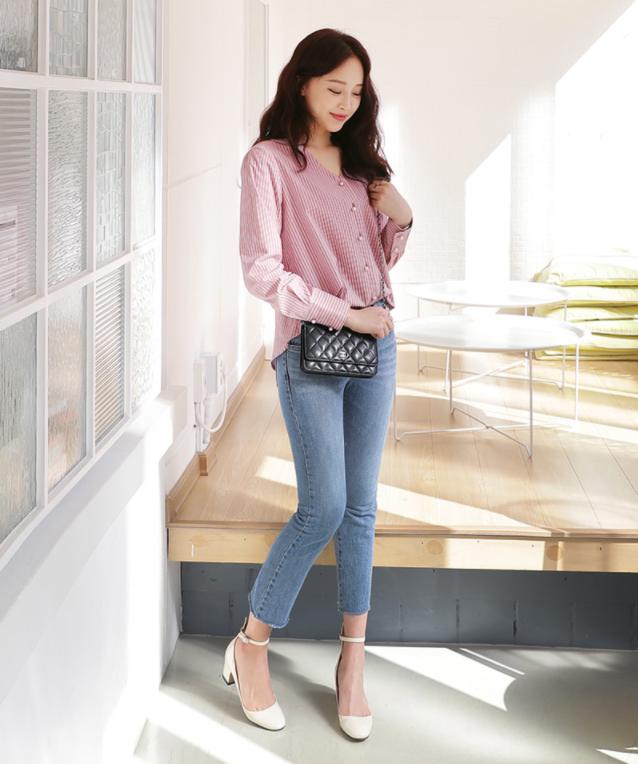 Điểm qua một vài cách diện đồ hay ho với cặp đôi kinh điển: quần jeans và sơmi - Ảnh 20.