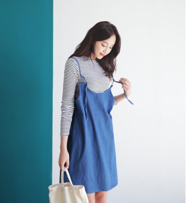 Những cách mix đồ cho mùa mới bạn có thể ứng dụng ngay khi lượn lờ qua các shop đồ online của Hàn - Ảnh 1.