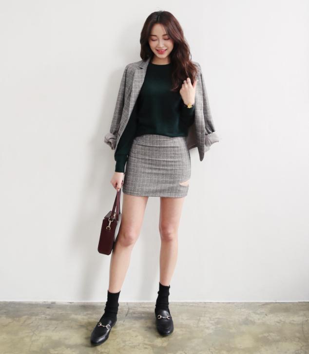 Những cách mix đồ cho mùa mới bạn có thể ứng dụng ngay khi lượn lờ qua các shop đồ online của Hàn - Ảnh 7.