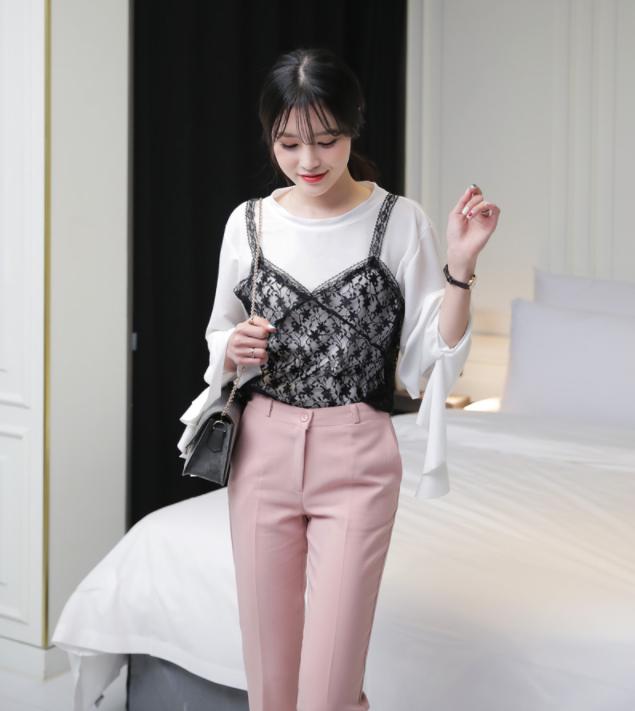 Những cách mix đồ cho mùa mới bạn có thể ứng dụng ngay khi lượn lờ qua các shop đồ online của Hàn - Ảnh 8.