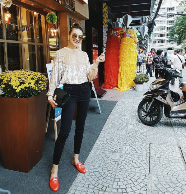Điểm mặt 4 kiểu quần jeans đang được kiều nữ Việt kết nhất - Ảnh 19.