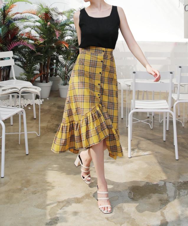 Nếu đã chán với váy ôm cơ bản, các nàng công sở hãy sắm cho mình kiểu chân váy đuôi cá - Ảnh 19.