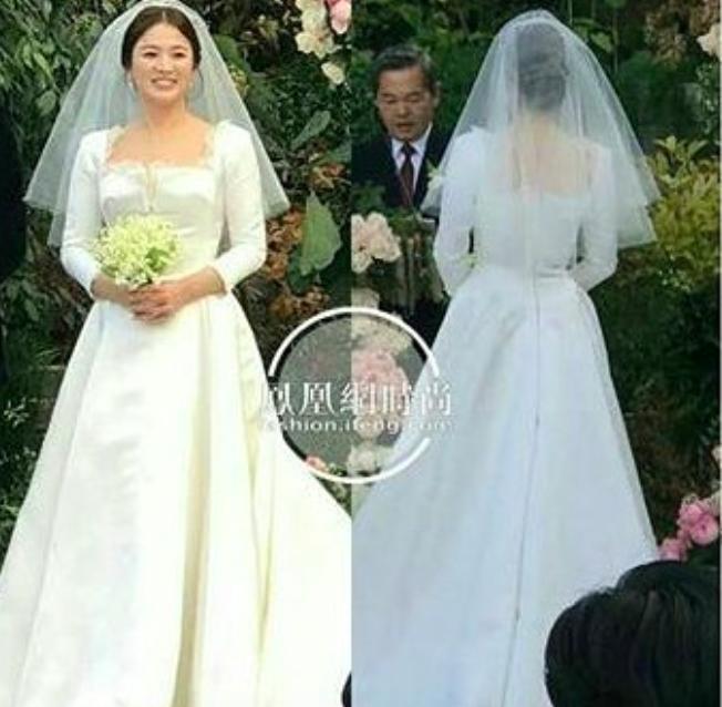 Cùng với Song Hye Kyo, nhiều người đẹp cũng từng diện thiết kế váy cưới Dior trong ngày trọng đại - Ảnh 2.