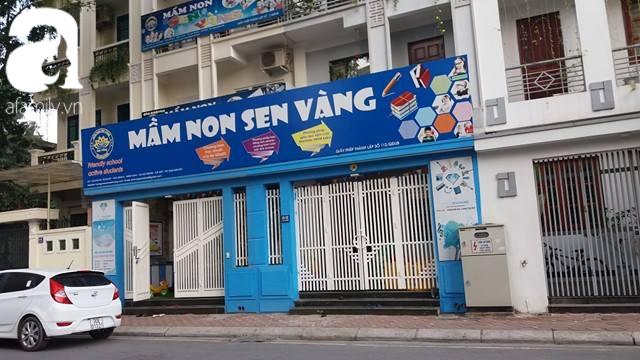Cơ sở trường mầm non Sen Vàng tại Minh Khai.