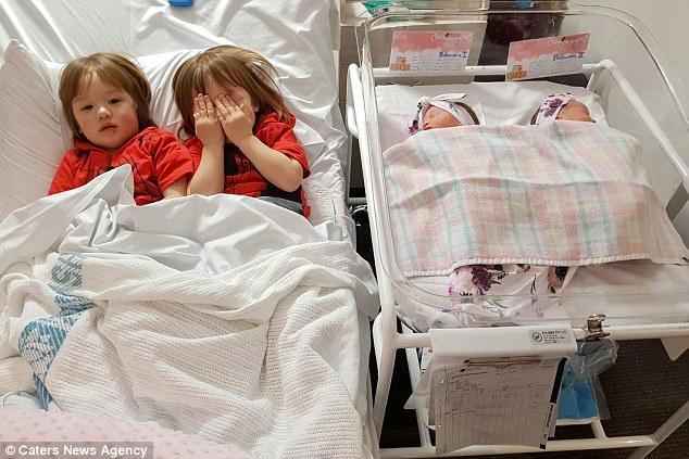 Sinh được 2 thiên thần nhỏ cực đáng yêu, bà mẹ lại tiếp tục gây sốc khi mang thai lần 2 - Ảnh 8.