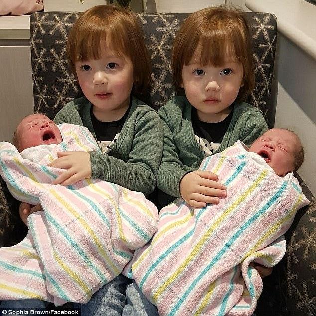 Sinh được 2 thiên thần nhỏ cực đáng yêu, bà mẹ lại tiếp tục gây sốc khi mang thai lần 2 - Ảnh 6.