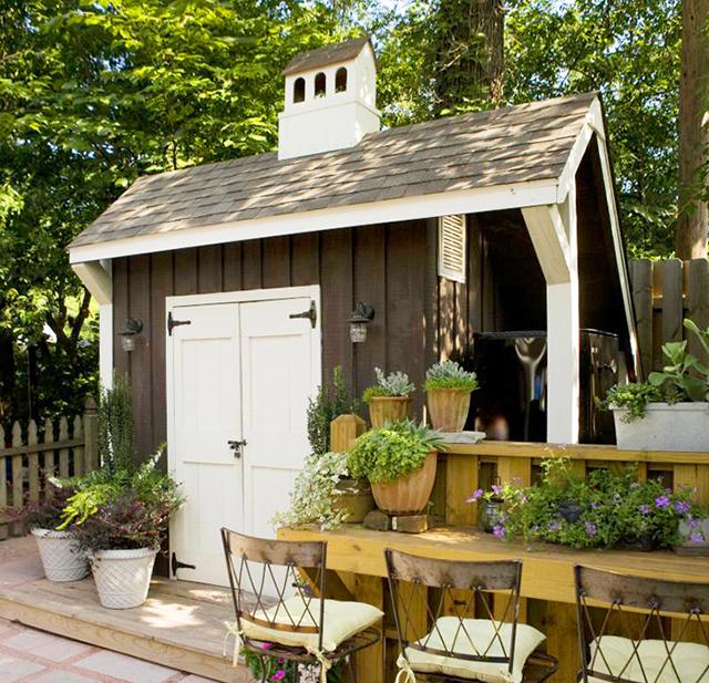 Những ngôi nhà nhỏ trong vườn khiến bạn như được lạc vào thế giới cổ tích - Ảnh 10.