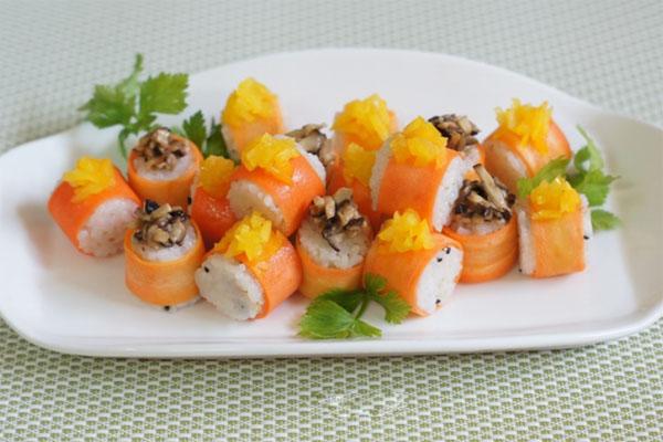 2 cách làm sushi cơm chưa bao giờ đơn giản đến thế - Ảnh 9.