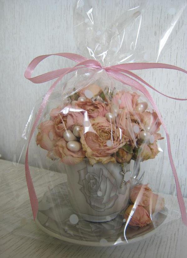 Cắm hoa hồng khô trong tách trà mới lạ độc đáo - Ảnh 7.