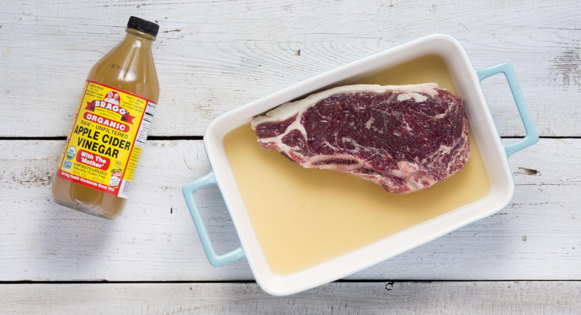 Bảo quản thịt heo bằng giấm ăn