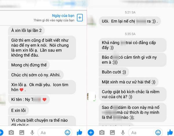 Vui tay kết bạn Facebook với trai đã có chủ, cô gái bị người yêu anh chàng mắng nhiếc, lập bàn thờ vì ghen - Ảnh 2.